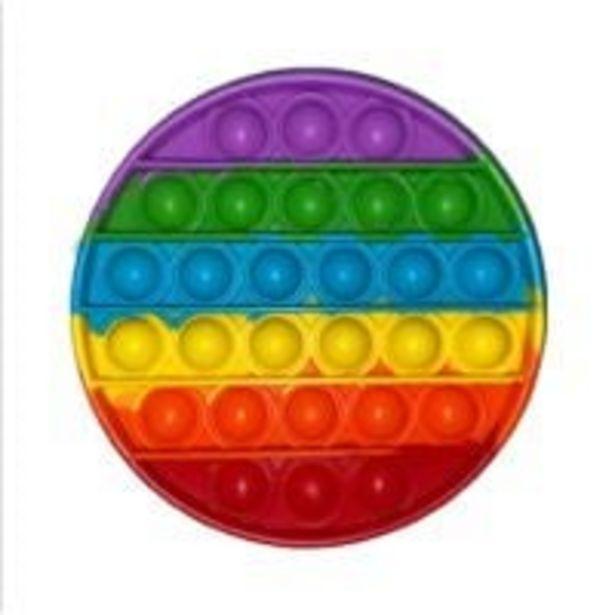 Ofertă Jucarie antistres Pop It Now, Forma rotunda, Multicolor 29,99 lei