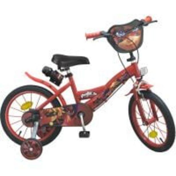 Ofertă Bicicleta Miraculous Lady Bug, 16 inch 649,99 lei