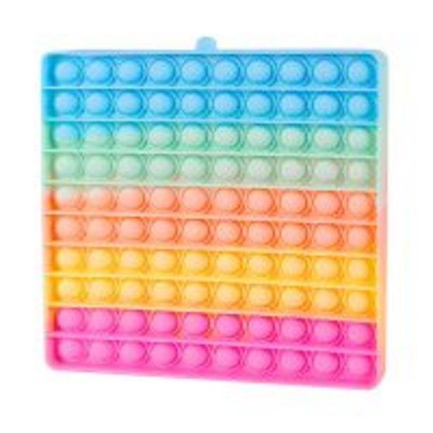 Ofertă Jucarie antistres Pop It Now, Patrat, Multicolor 39,99 lei