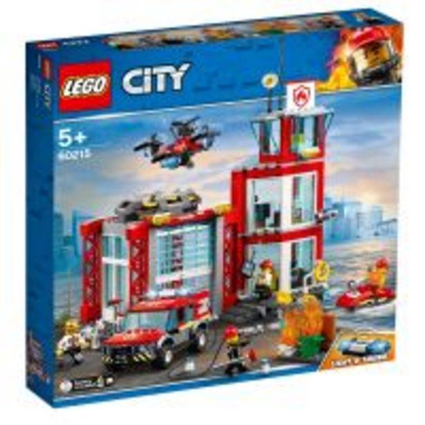Ofertă LEGO® City - Statie de pompieri (60215) 227,99 lei