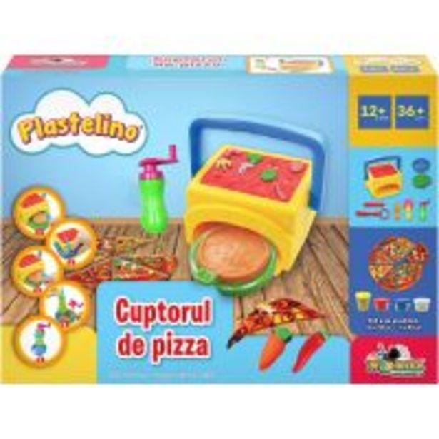 Ofertă Set de joaca Plastelino, Cuptorul de pizza 49,99 lei
