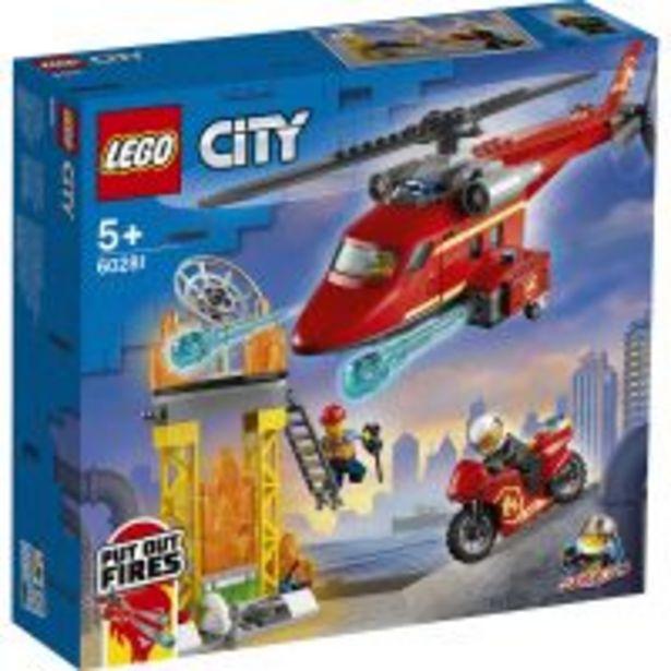 Ofertă LEGO® City - Elicopter de pompieri (60281) 119,99 lei