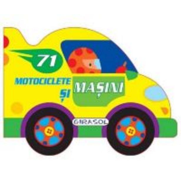 Ofertă Carte Girasol - Vehicule cu motor - Motociclete si masini 29,99 lei