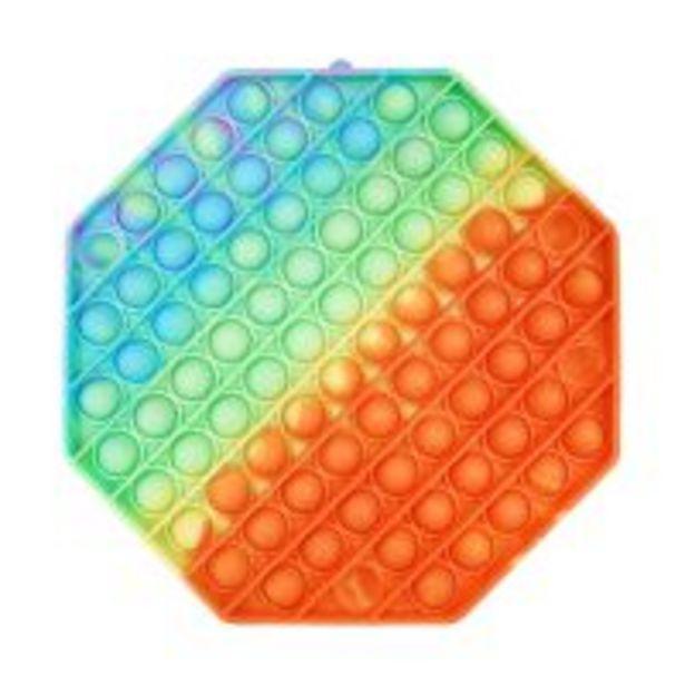 Ofertă Jucarie antistres Pop It Now, Hexagon, Multicolor 39,99 lei