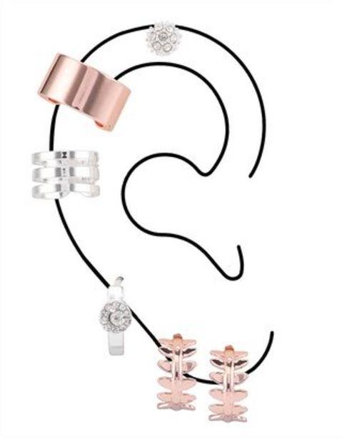 Ofertă Femei Cercei ear cuff - Set 6 perechi 19,99 lei