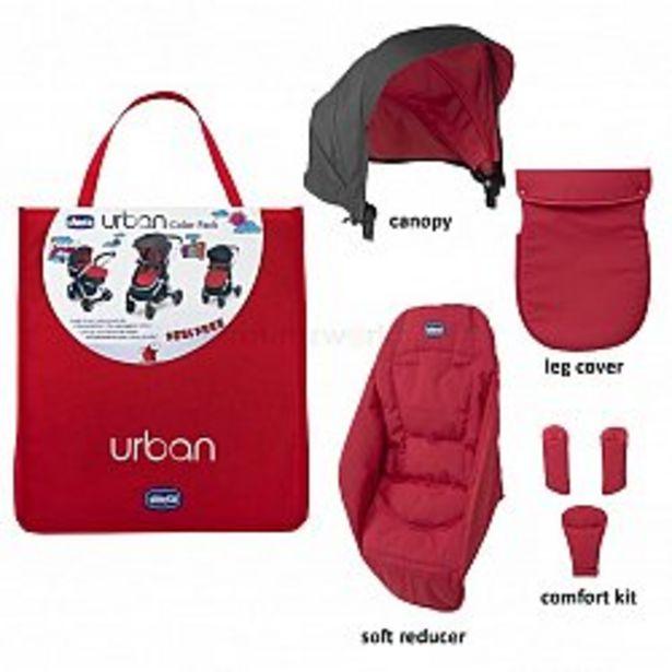 Ofertă Kit husa carucior Chicco Urban, RedWave 215,76 lei