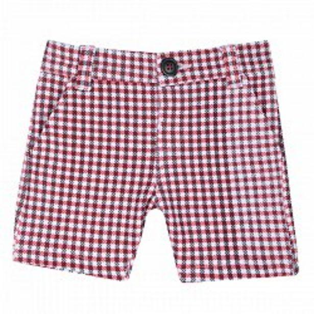 Ofertă Pantalon scurt pentru copii, Chicco, rosu cu alb, 52865 64,95 lei