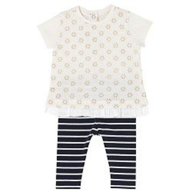 Ofertă Costumas copii Chicco, tricou si colanti, fetite, alb, 77464 99,5 lei
