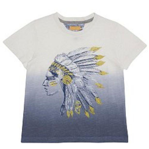 Ofertă Tricou copii Chicco, maneca scurta, alb cu model 69,95 lei