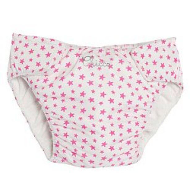 Ofertă Slipi baie fetite, Chicco, alb cu roz, 92857 49,95 lei