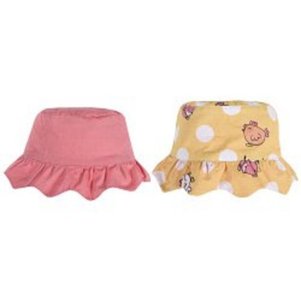 Ofertă Palarie reversibila pentru fetite, alb cu galben, 04412 34,95 lei