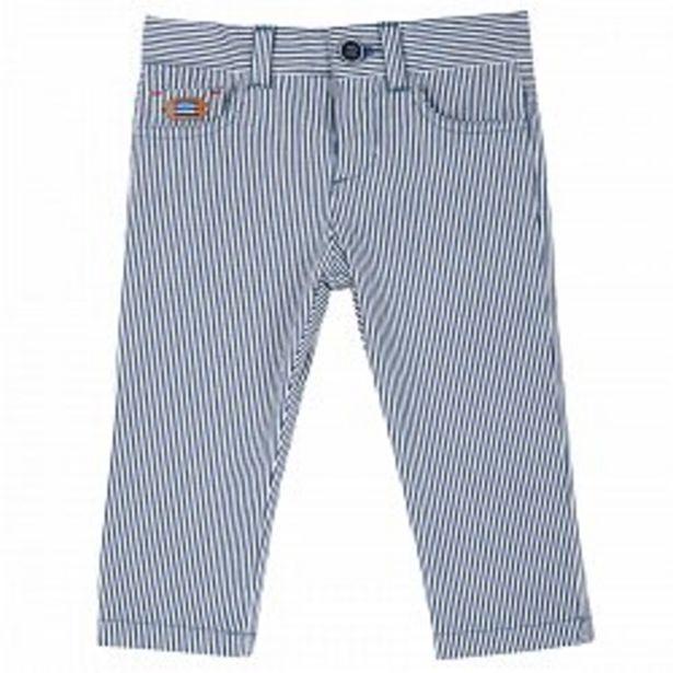 Ofertă Pantalon copii Chicco, alb cu bleumarin, 08152 99,95 lei