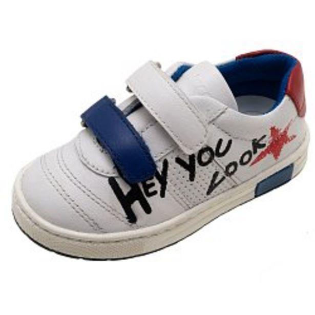 Ofertă Pantofi sport Chicco Caster, piele naturala, alb, 61600 144,95 lei