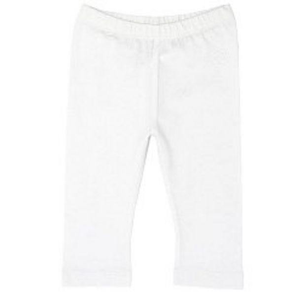 Ofertă Pantaloni copii Chicco, trei sferturi, alb 29,95 lei
