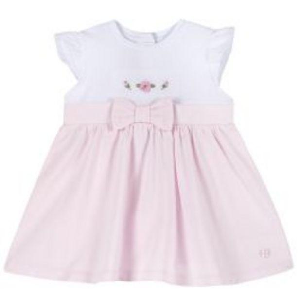 Ofertă Rochie copii Chicco, alb cu roz, 03617 89,95 lei
