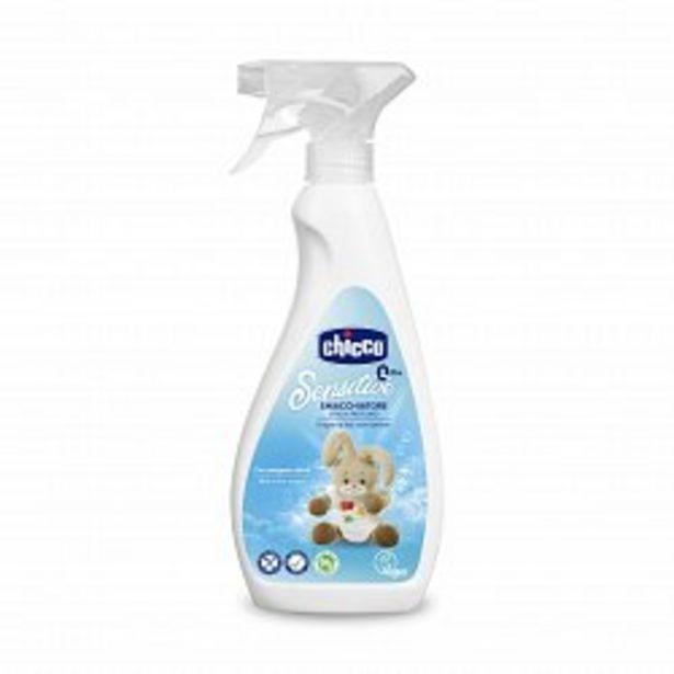 Ofertă Solutie vegana Chicco pentru indepartarea petelor, pulverizator, 500ml, 0luni+  29,75 lei