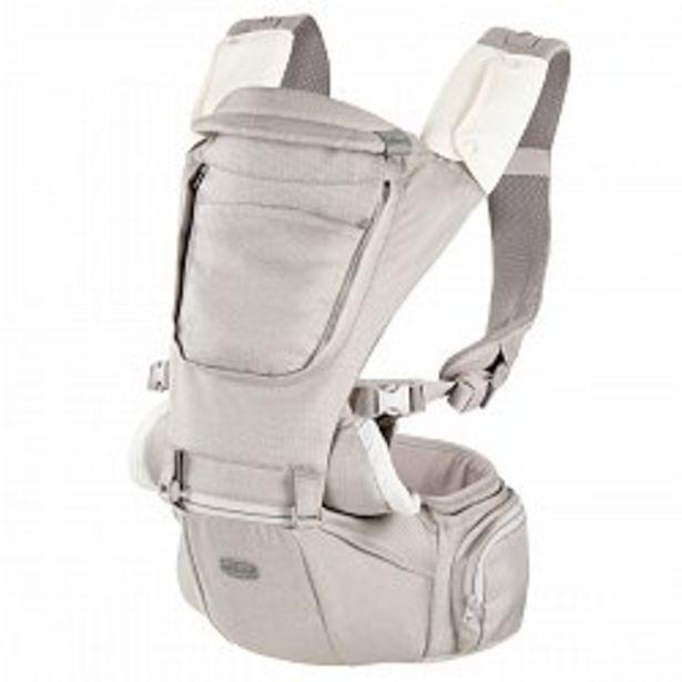 Ofertă Marsupiu ergonomic multifunctional Chicco Hip Seat cu suport pentru sold, HazelWood (Crem). luni+ 449,65 lei