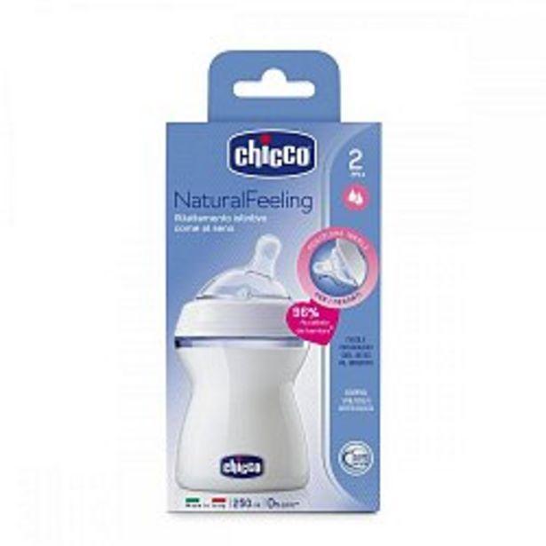 Ofertă Biberon Chicco STEP UP, 250ml, t.s., flux mediu, 2luni+, 0%BPA 46 lei