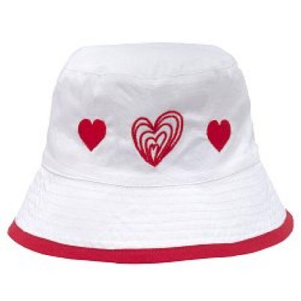 Ofertă Palarie fete Chicco Barbara, alb cu rosu, 04471 39,95 lei