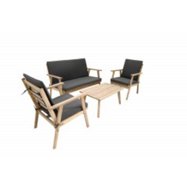 Ofertă Set Mobilier Cafea Din Lemn  •  Acacia 849 lei