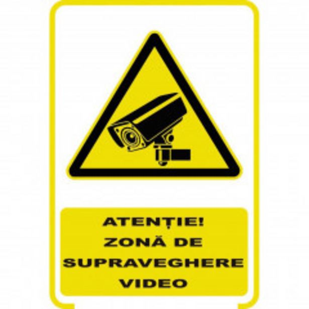 Ofertă PlĂcuȚĂ' 'supraveghere Video' 14 lei
