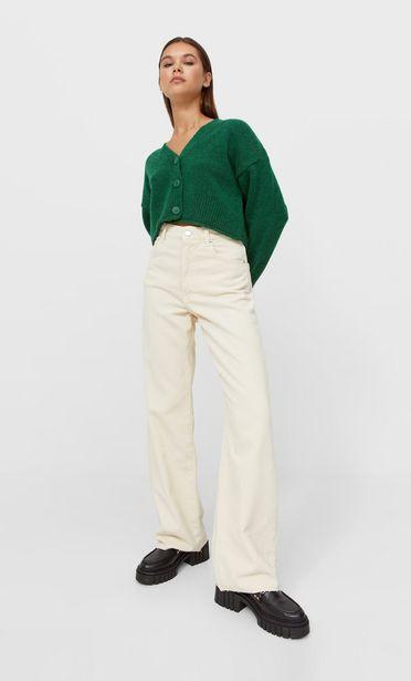 Ofertă Pantaloni straight fit din catifea cord 129,9 lei