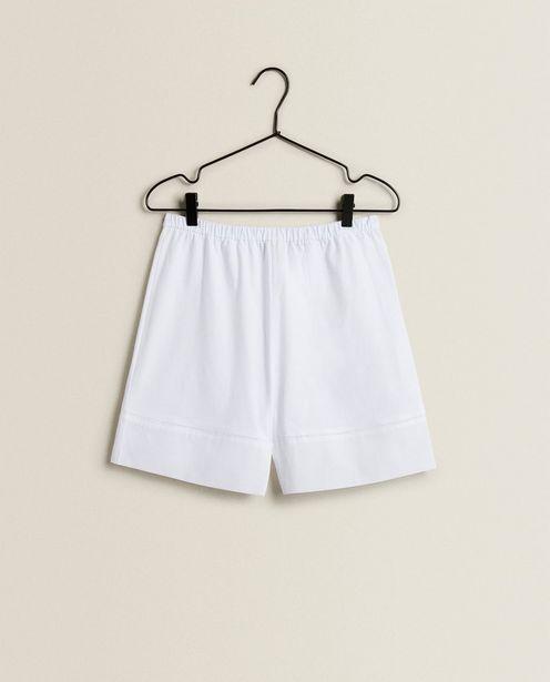 Ofertă Pantaloni Scurți Din Bumbac Cu Ajur 79,9 lei