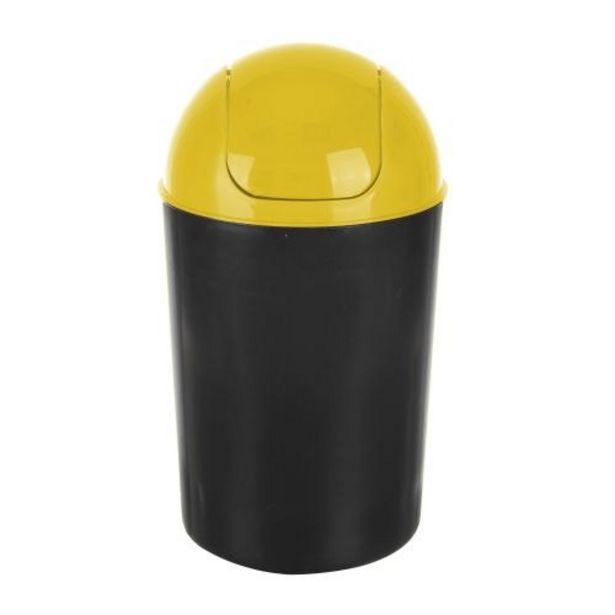 Ofertă Cos de gunoi Flap Delta, din plastic, deschidere batanta, 12 L, galben 15,8 lei