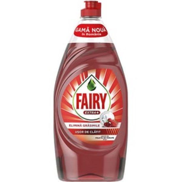 Ofertă Detergent de vase FAIRY Extra+ Fructe de padure rosii, 900 ml 9,86 lei