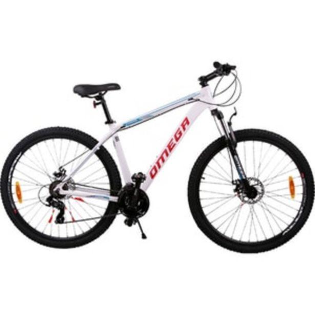 "Ofertă Bicicleta de munte OMEGA Camino, 29"", cadru aluminiu, alb 1119,94 lei"