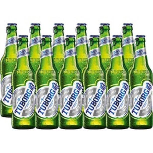 Ofertă Bere fara alcool Tuborg bax 0.33L x 12 sticle 40,91 lei