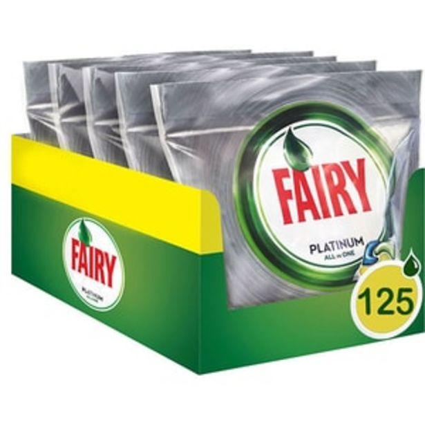 Ofertă Detergent pentru masina de spalat vase FAIRY Platinum, 125 capsule 98,95 lei