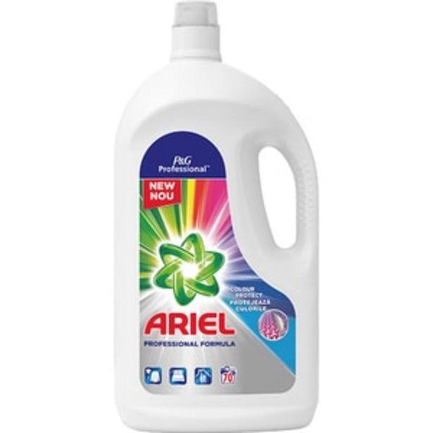 Ofertă Detergent lichid ARIEL Professional Color, 3.85l, 70 spalari 54,23 lei