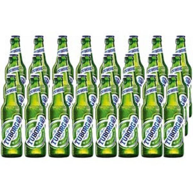 Ofertă Bere blonda Tuborg bax 0.33L x 24 sticle 79,99 lei