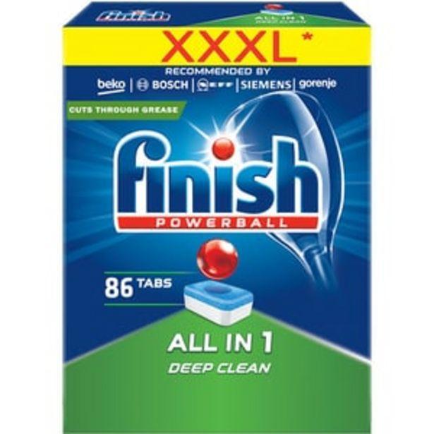 Ofertă Detergent vase pentru masina de spalat vase FINISH All in One, 86 tablete 62,03 lei