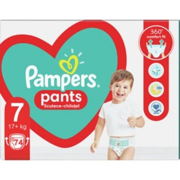 Ofertă Scutece chilotei PAMPERS Pants Mega Box nr 7, Unisex, 17+kg, 74 buc 112,71 lei