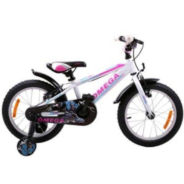 "Ofertă Bicicleta copii OMEGA Master, 20"", alb 587,95 lei"