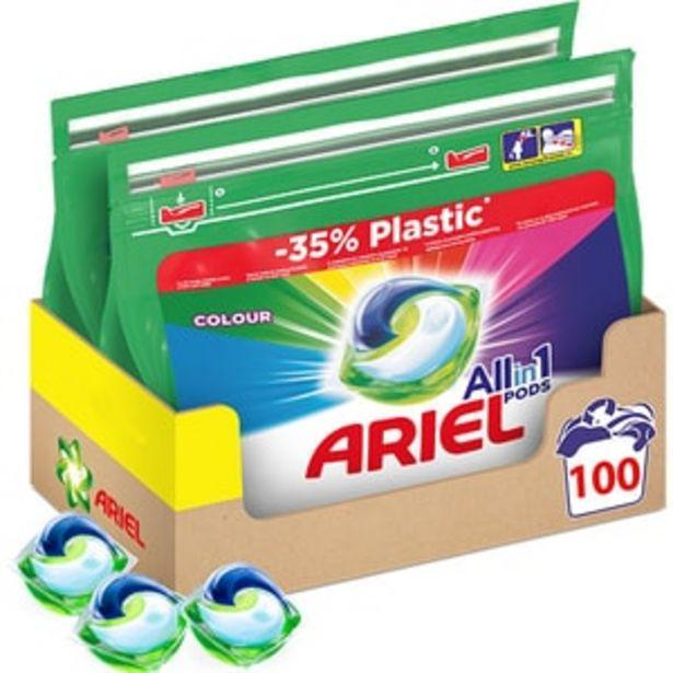Ofertă Detergent capsule ARIEL All in One Pods Color, 100 spalari 104,34 lei
