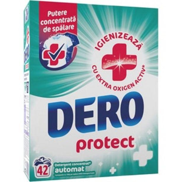 Ofertă Detergent automat DERO Protect, 2.73 kg, 42 spalari 29,95 lei