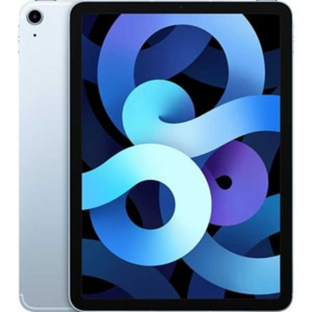 """Ofertă Tableta APPLE iPad Air 4, 10.9"""", 64GB, Wi-Fi + 4G, Sky Blue 3348,99 lei"""