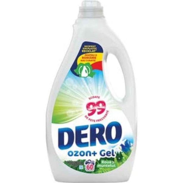Ofertă Detergent lichid DERO Ozon+Roua muntelui, 3l, 60 spalari 37,74 lei